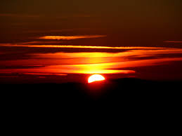 sunrise out of darkness